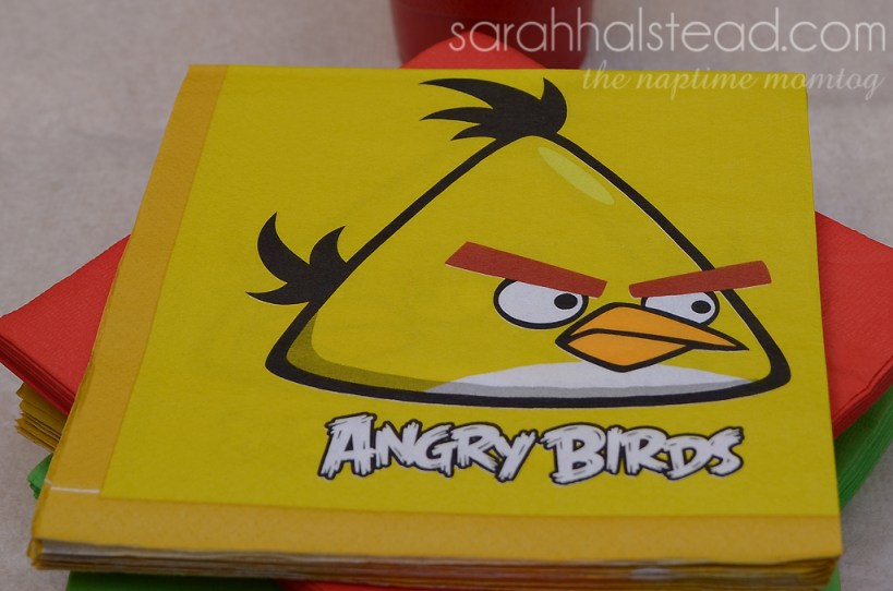 Angry Birds Birthday Smash | Decorations