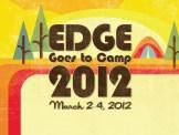 """Edge Goes to Camp"" logo design for Summit Church, Orlando, Florida"