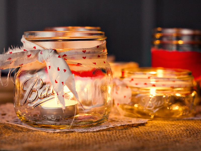 valentines day table decorations candles