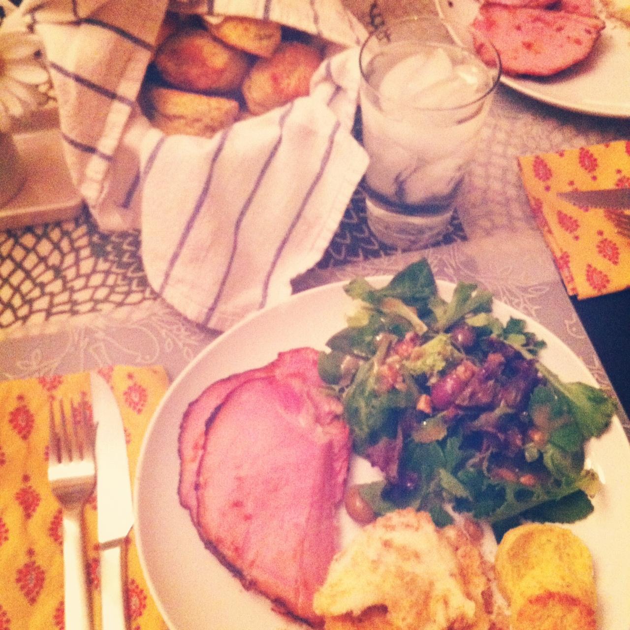 Everyday Food's April 2012 Easter Menu