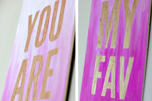 diy ombre quote wall art 5