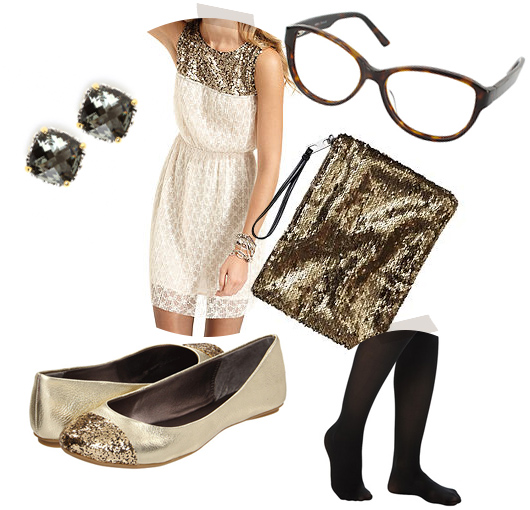 What to wear to a holiday party from sarahhearts.com