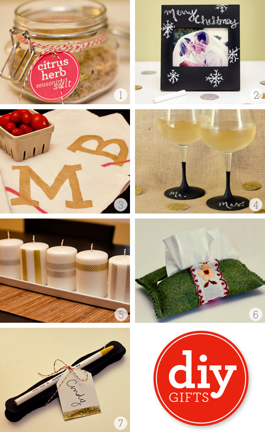 Simple DIY Christmas Gifts from sarahhearts.com