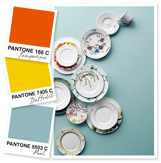 Orange, Yellow and Blue Gray Color Palette by Sarah Hearts