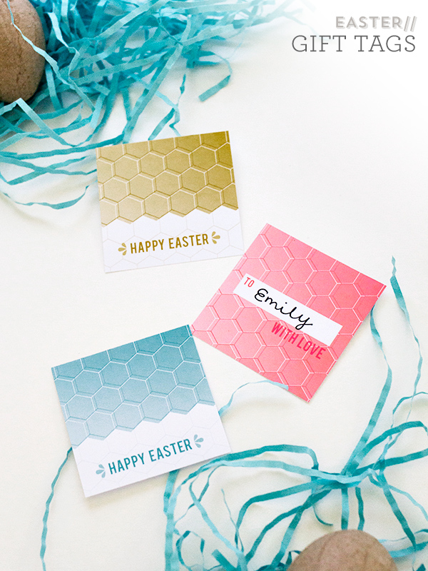 Sarah Hearts | Printable Easter Gift Tags