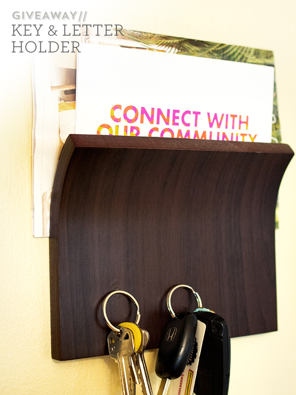 Win It // Key and Mail Holder #MSNhearts