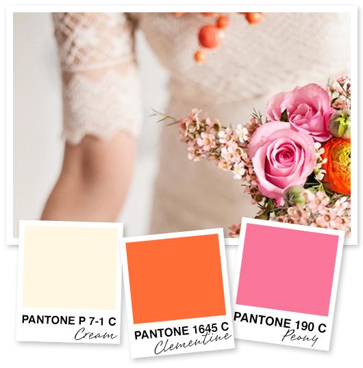 Cream, Orange and Pink Color Palette | Sarah Hearts