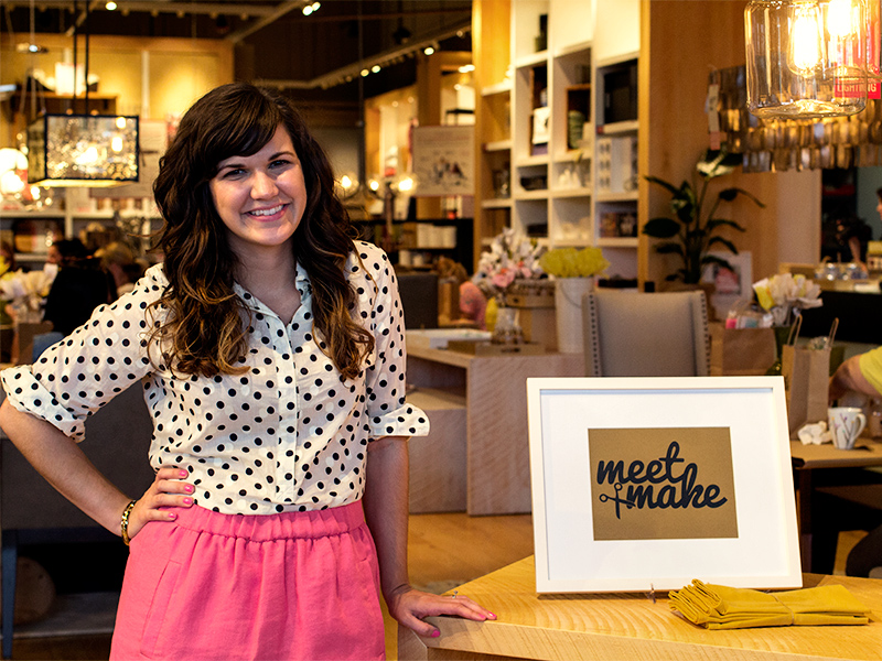 Meet + Make Party at West Elm Orlando | Sarah Hearts