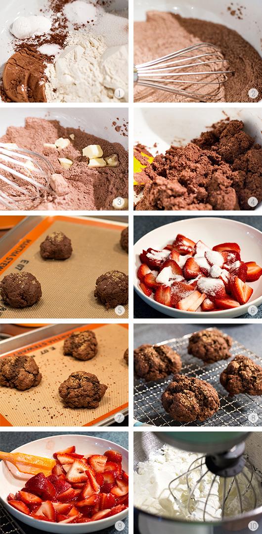 Chocolate Strawberry Shortcake and All You Magazine   Sarah Hearts
