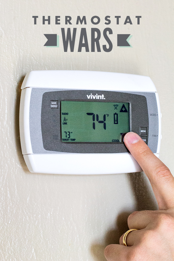 How to Manage the Thermostat as a Couple | Sarah Hearts