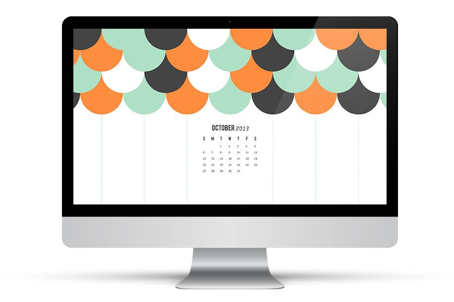 October 2013 Calendar Wallpaper | Sarah Hearts