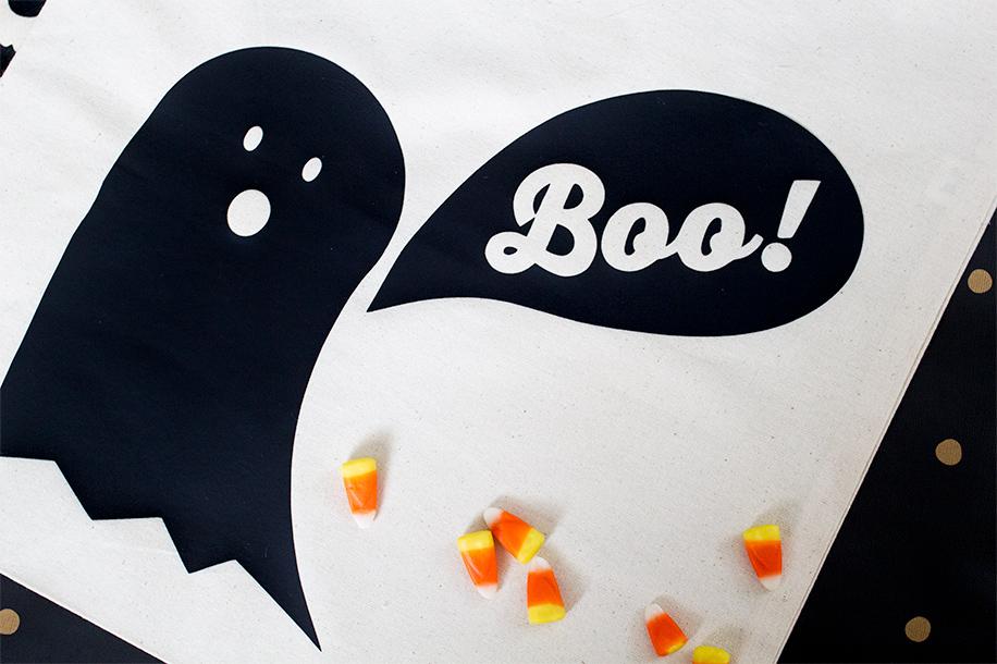 DIY Halloween Trick or Treat Bag