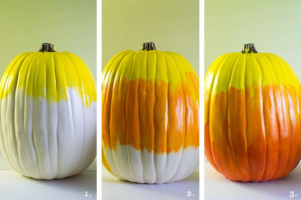 DIY Ombre Pumpkin | Sarah Hearts