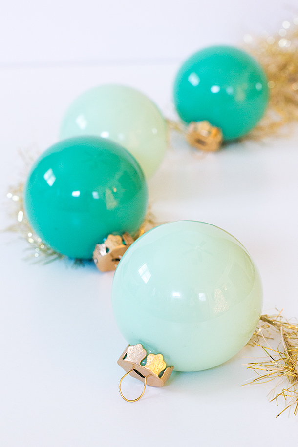Diy Paint Filled Ornaments Sarah Hearts