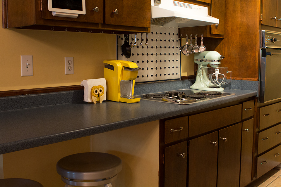 House Tour: Small Galley Kitchen