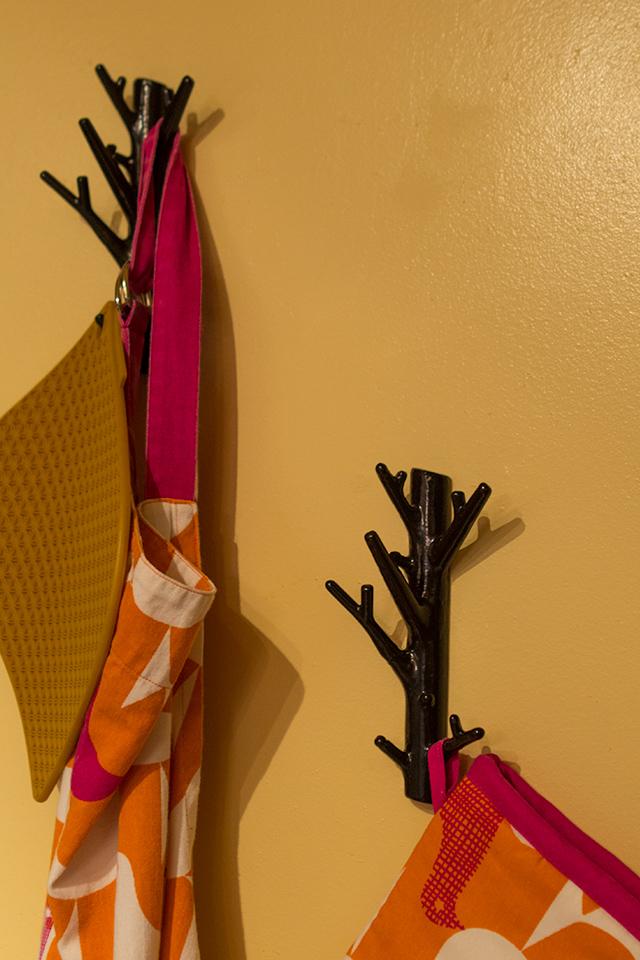 House Tour: Branch Kitchen Hooks