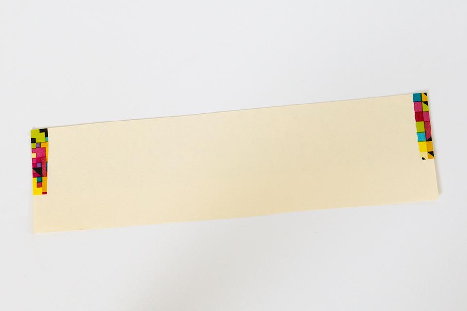 DIY Duct Tape Table Runner