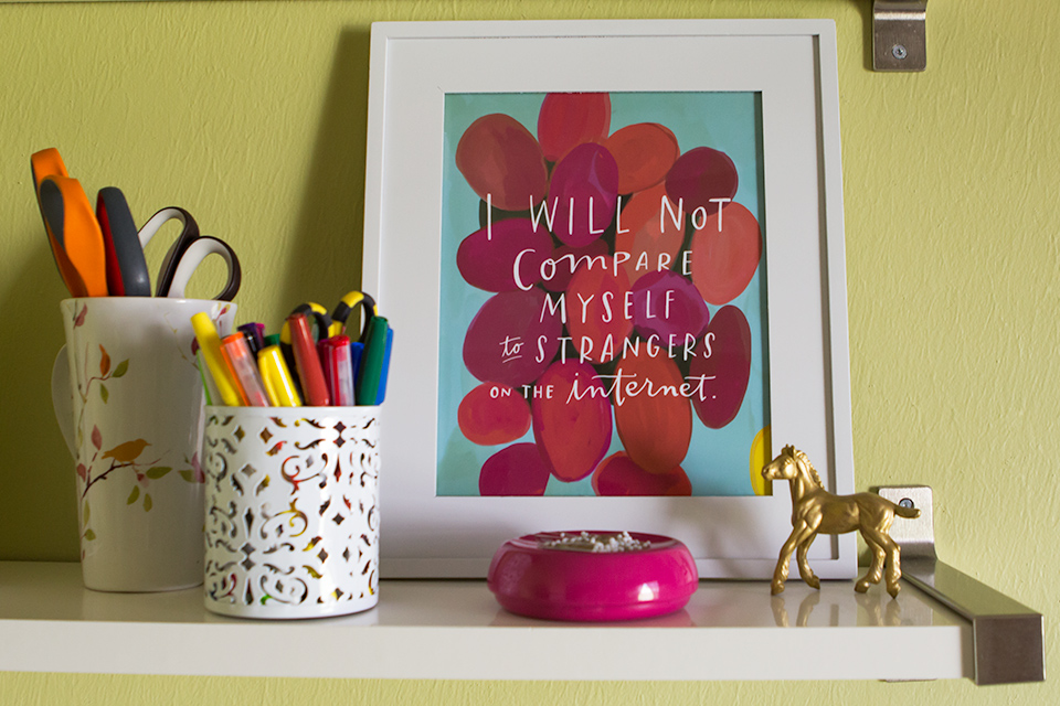 So true! This print by Emily McDowell is a great reminder!