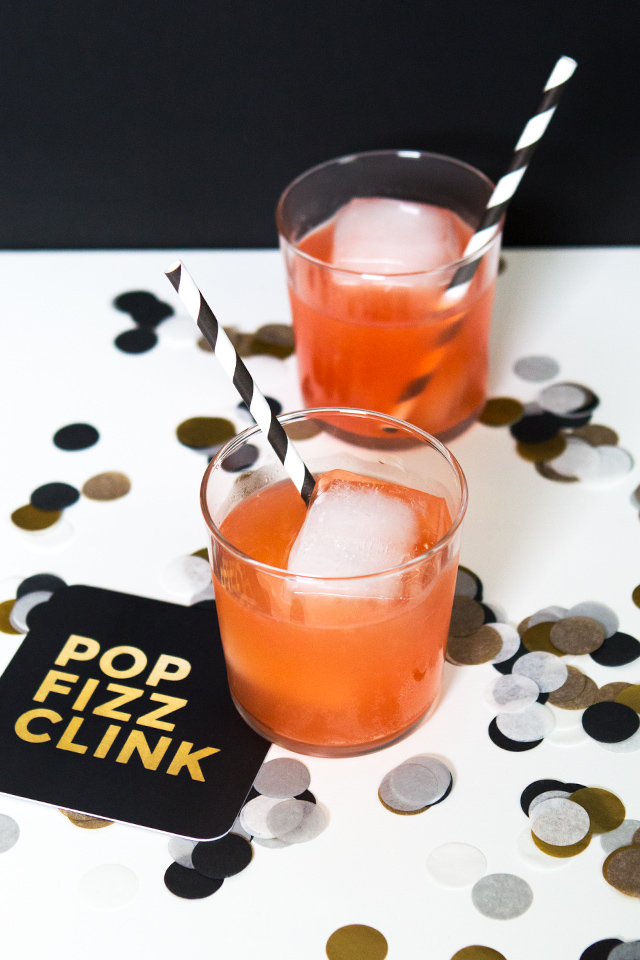 Not a big champagne fan? This New Year's try this version that combines fresh orange juice, gin, and grenadine with the bubbly.