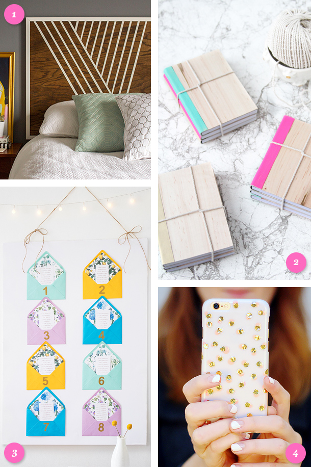 Loving these DIY projects! Click through for details about each project.