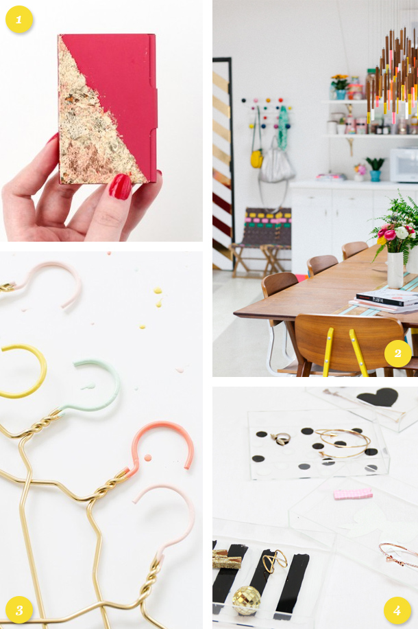 Looking for a fun weekend project? Get inspired with one of these fun projects. (Click through for links to each one)