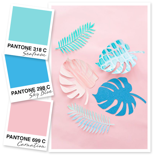 I just love how carefree and fun these shades look! Try pairing light pink with a true blue for a unique color combo.