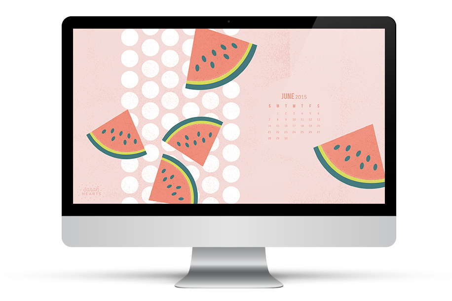 Get ready for summer by using this fun watermelon wallpaper on all your devices! (click through to download)