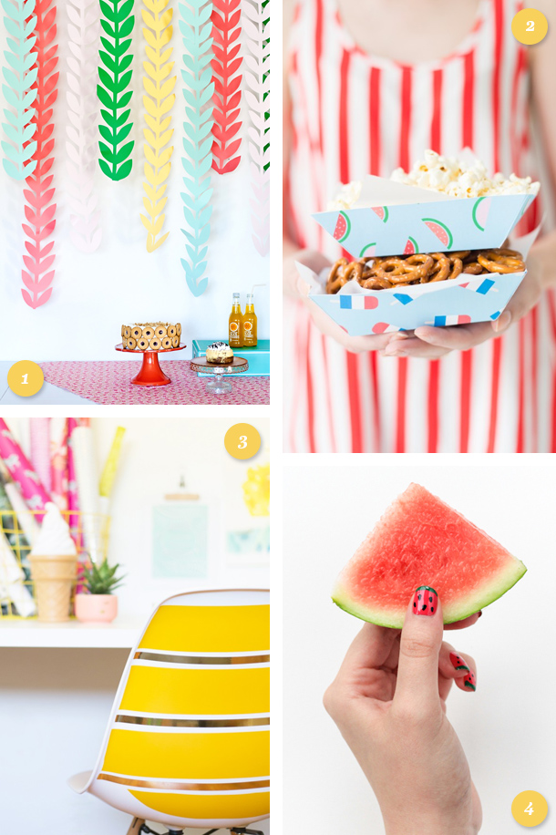 Get ready for summer with these awesome party, home and beauty DIY projects! Click through for links to each project.