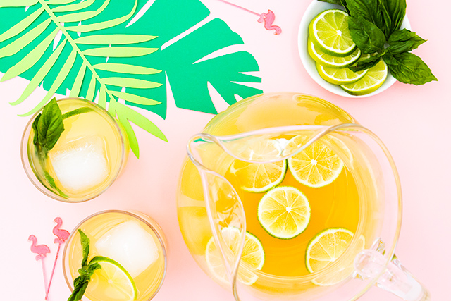 Summer wouldn't be complete without a delicious tropical punch! Loving this easy to make recipe.