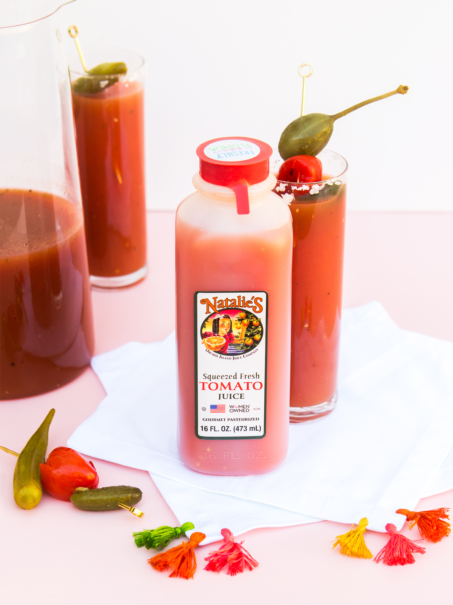 blood-Serve the best Bloody Marys at your next brunch with this delicious spicy recipe!