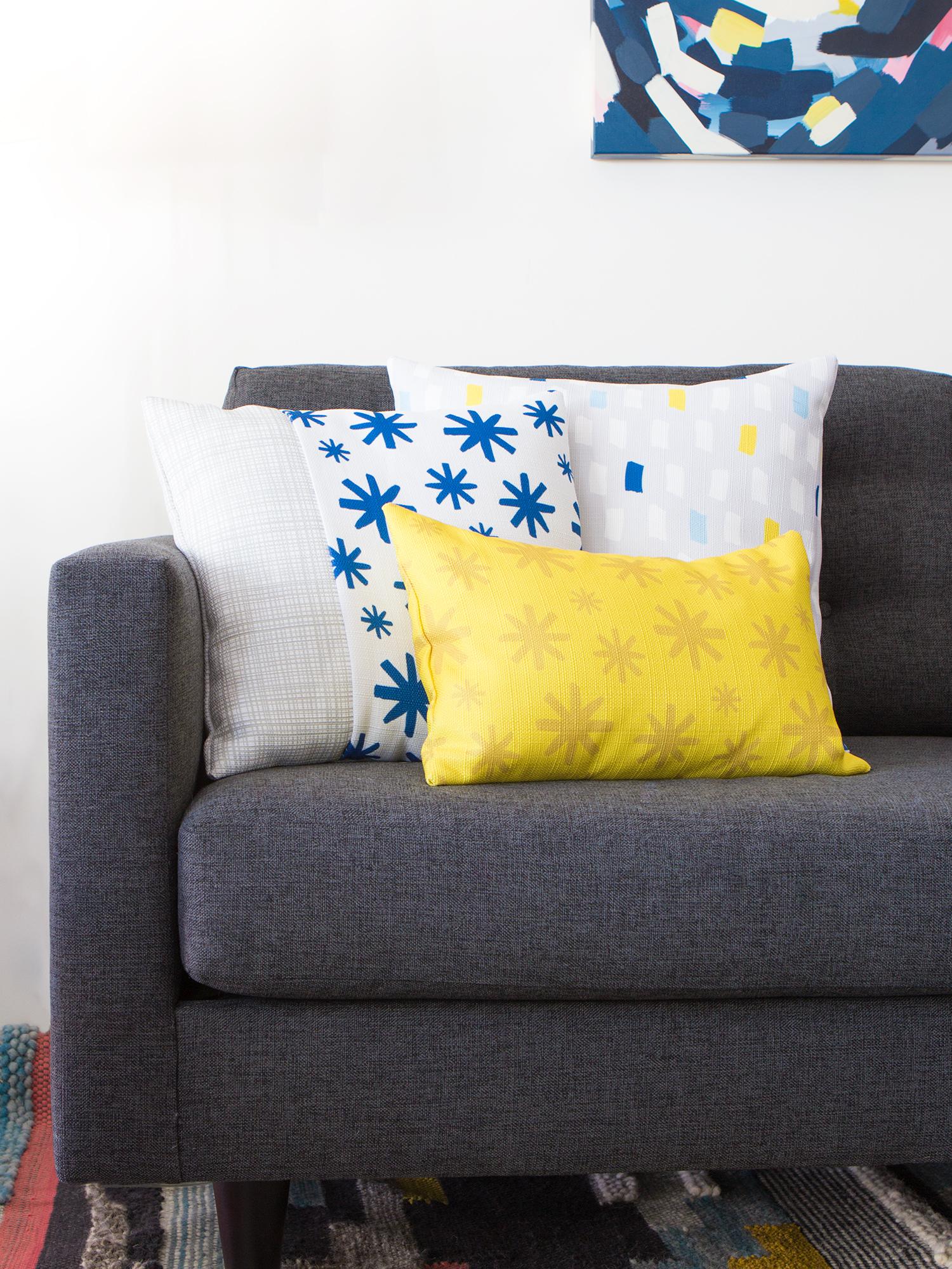 Easy DIY Throw Pillow Covers Sarah Hearts