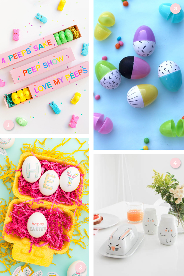 Decorate your table (and eggs) for Easter with these adorable DIY projects!