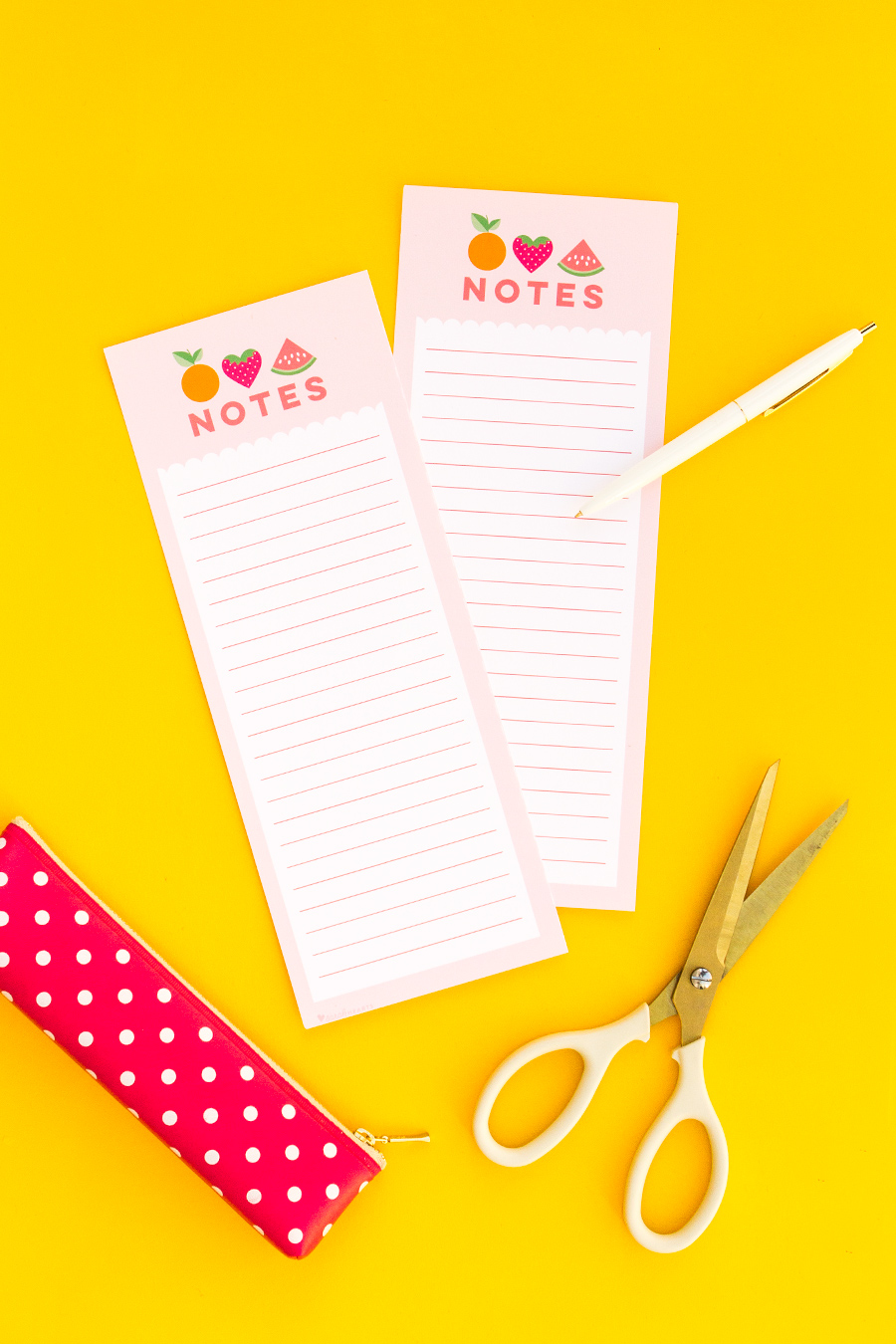 image relating to Free Printable Note Paper called Absolutely free Printable Be aware Sheets - Sarah Hearts