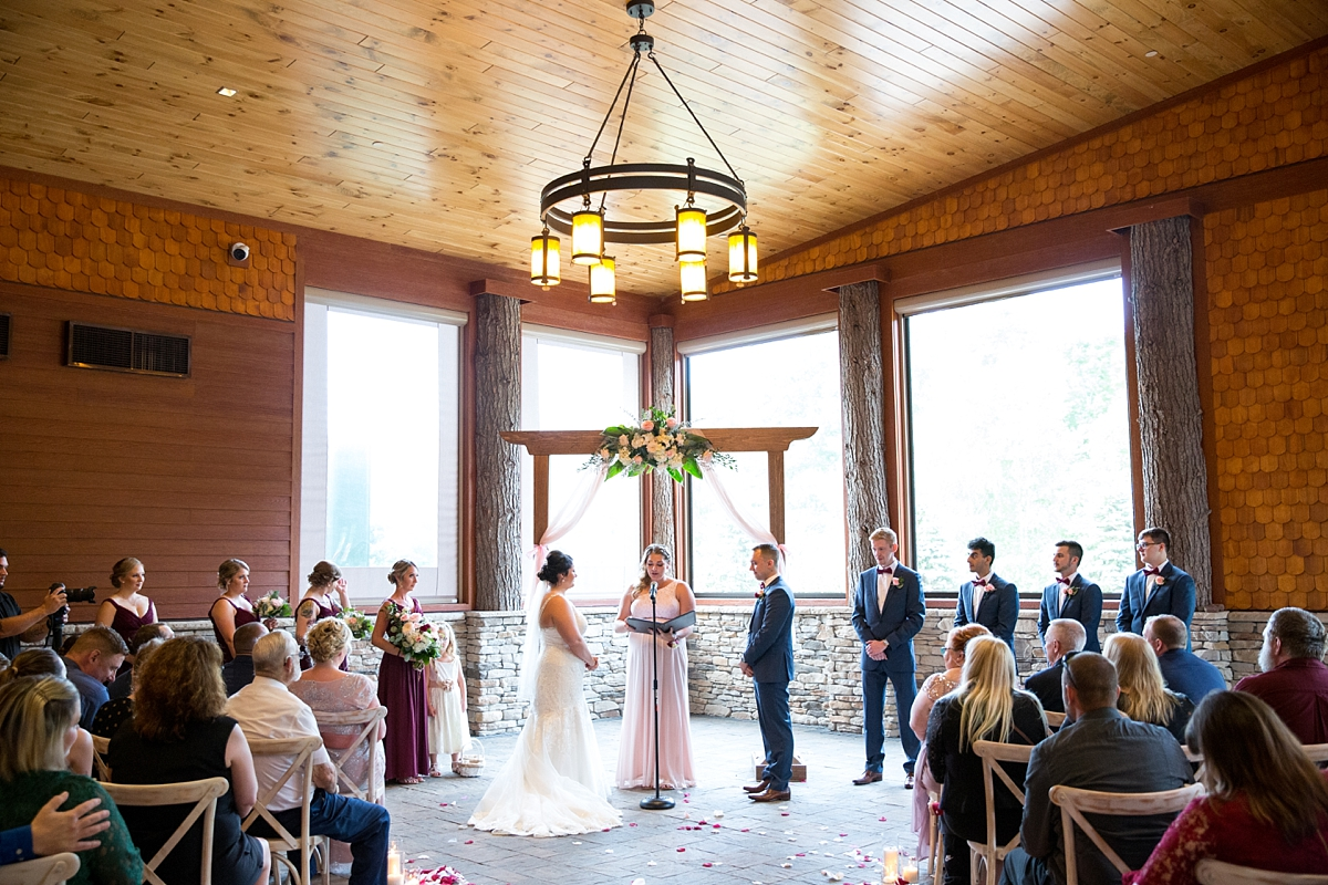 Rustic Portrait Heavy Fall Wedding At Tailwater Lodge Sarah Heppell Photography