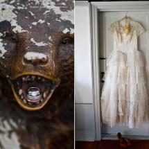 Portland Maine Wedding Vintage Wedding Dress