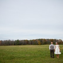 Central Maine Backyard Wedding