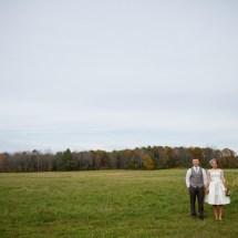 Central Maine Backyard Wedding