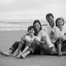 Wells Beach Maine Family Portraits