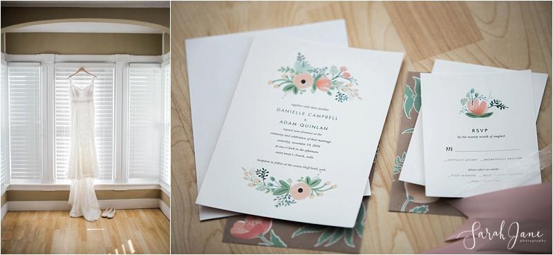 Wedding Dress | York Maine Wedding Photographer | Sarah Jane Photography