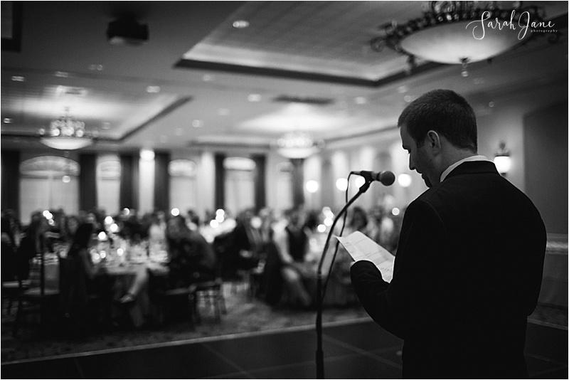 Sarah Jane Photography Maine Wedding Photographer Best Man Speech at Union Bluff Hotel York Maine