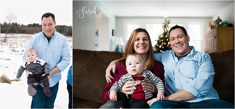 Family Pictures in Maine Holidays Sarah Jane Photography