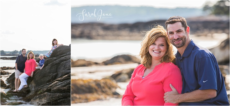 Sarah Jane Photography | Pemaquid Beach Park Family Portrait Session