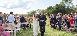 Just Married at Gisland Farm Maine Audubon Center