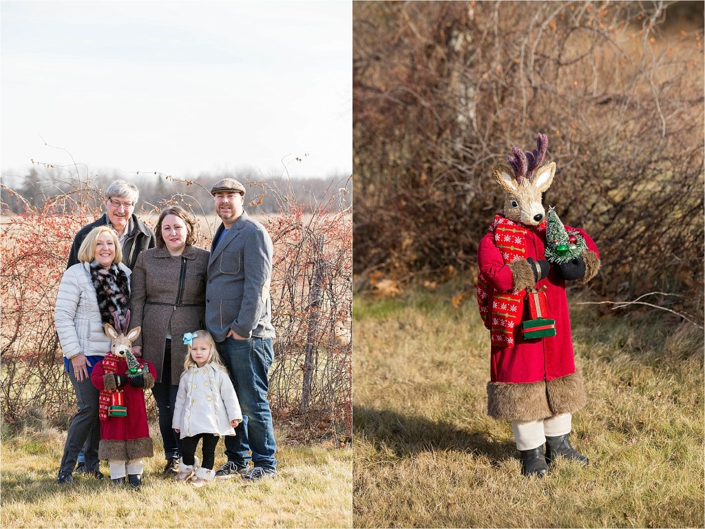 Holiday Photo Session Laudholm Farm Wells Reserve Maine