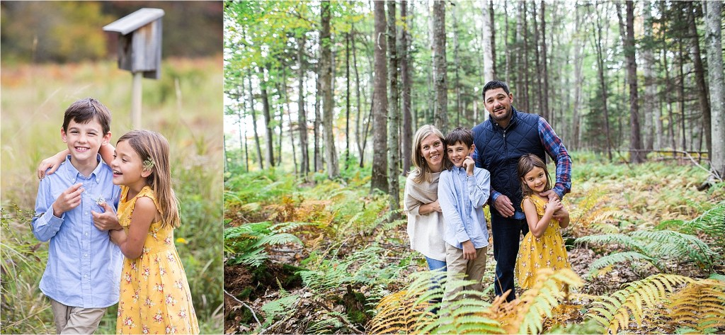 Laudholm Farm Family Portrait Session