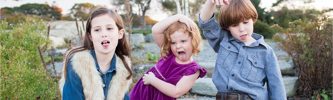 Family Session Bloopers | Maine Family Portrait Photography