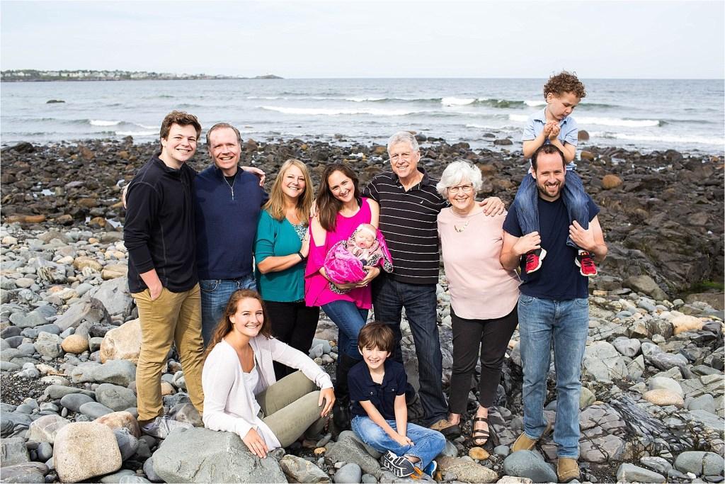 Maine Family Photographer York Short Sands Beach Maine Family Vacation