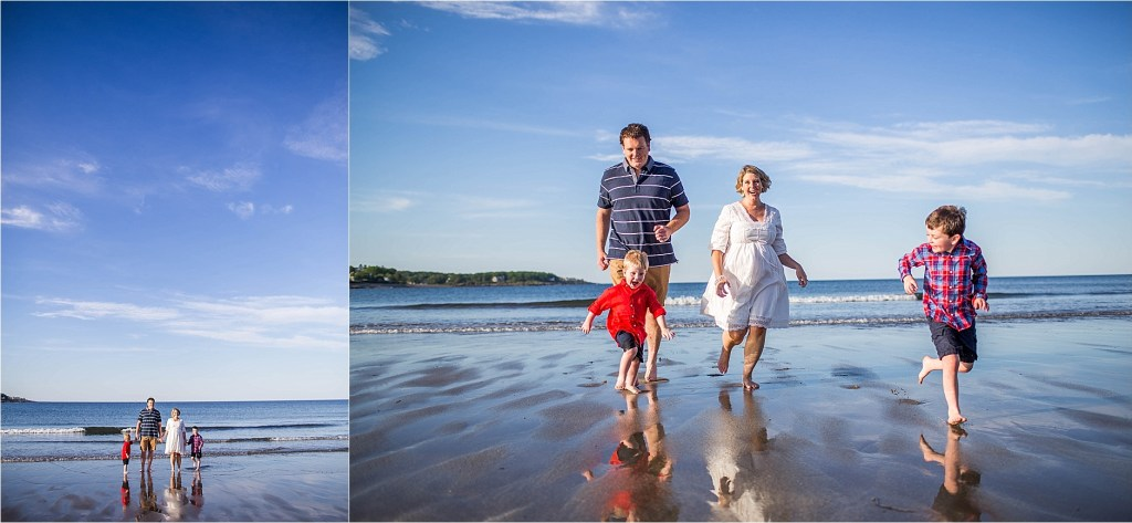 Family Photography Session York Beach Maine