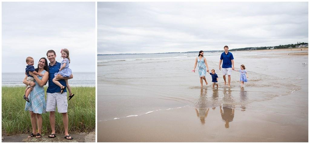 Kinney Shores Family Photographer Maine Vacation