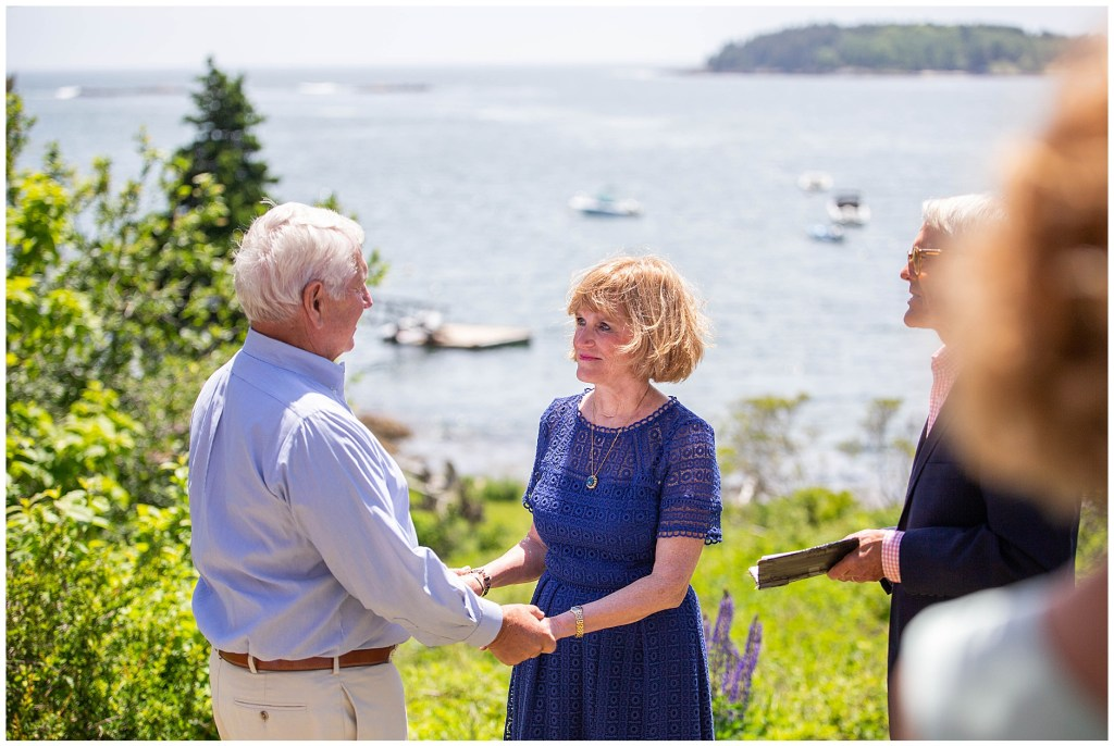 50th Anniversary Vow Renewal Pemaquid Maine
